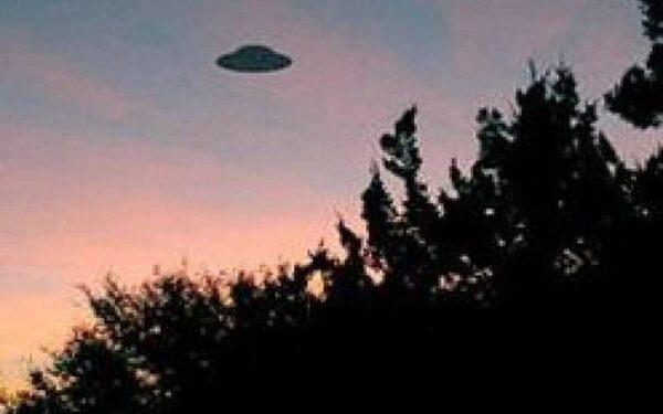 Очередные кадры НЛО