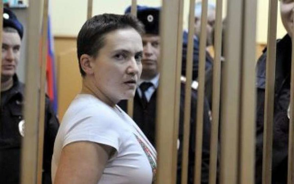 Летчицу Савченко перевели в спецблок Матросской тишины