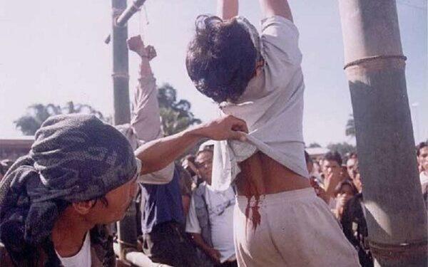 Казнь в Индонезии