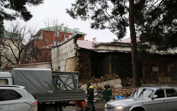 В Анапе рухнуло здание военкомата – причины