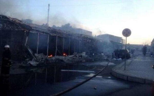 Центр Донецка обесточен после мощного обстрела