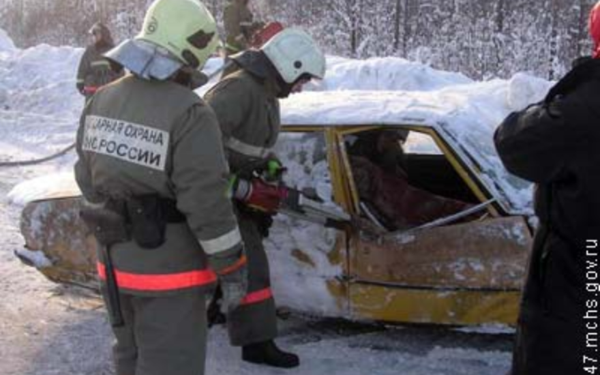 В Ленинградской области в ДТП пострадали пять человек