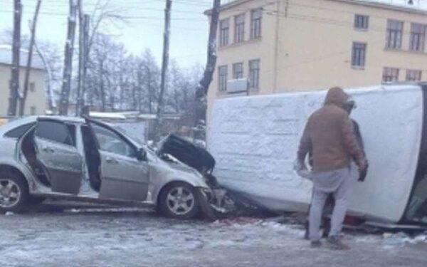 ДТП, Санкт-Петербург, автомобильная авария, Питер, пострадали люди