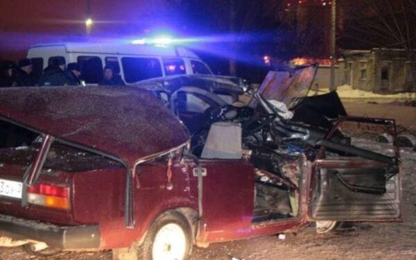 В Воронеже в лобовом ДТП погибли три человека