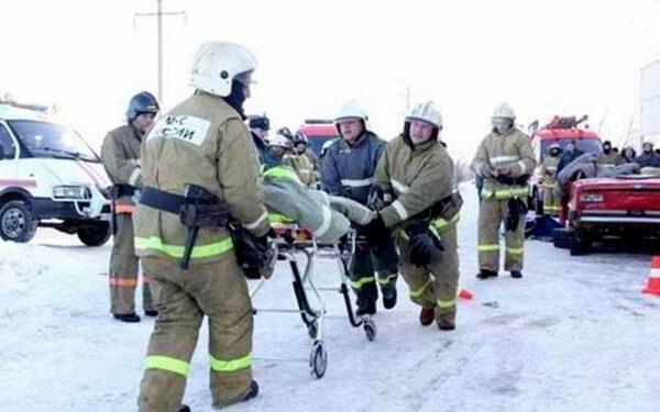 Под Челябинском в ДТП с пассажирским автобусом погибли два человека