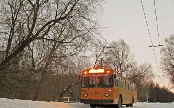В Новосибирске мужчина угнал троллейбус с пассажирами