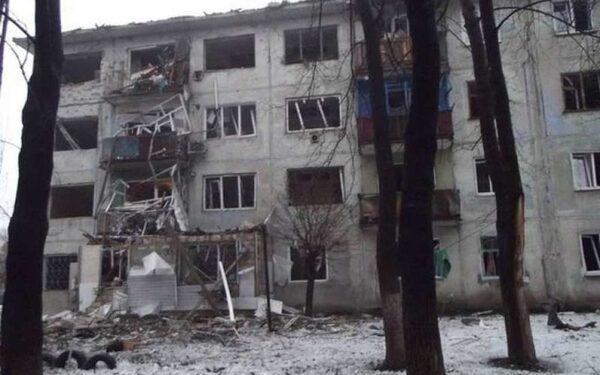Разрушения после обстрела ВСУ