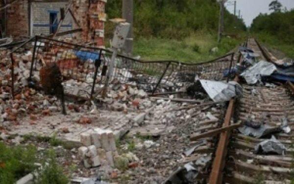 """В Донецке при попадании снаряда повреждена подстанция """"Засядько 110"""""""