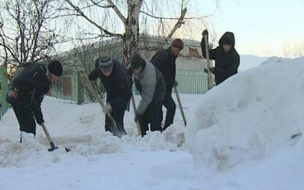 В Воронежской области из-за сугроба полицейский сбил девочку