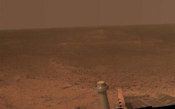 Марсоход сделал снимок панорамного вида Марса