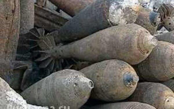 Солдаты ВСУ обезвреживают снаряды, предназначенные для убийства граждан ДНР