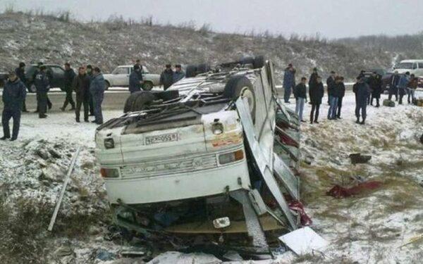 В Ивановской области перевернулся автобус с липецкими паломниками