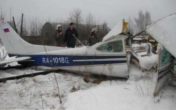 Крушение частного самолёта в ХМАО: аварийная посадка в Сургутском районе, пилот в коме, диспетчер не разрешил полёт, хозяина самолёта не было на борту