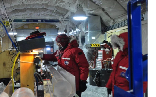США пробурили скважину на Южном полюсе глубиной более 0,5 км