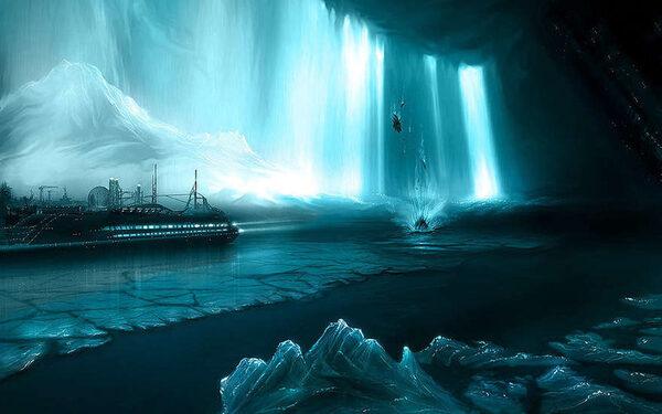 Таяние ледников высвобождает большие объемы углерода