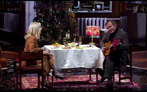 Башаров стал Лукашиным на Новый год ФОТО ВИДЕО