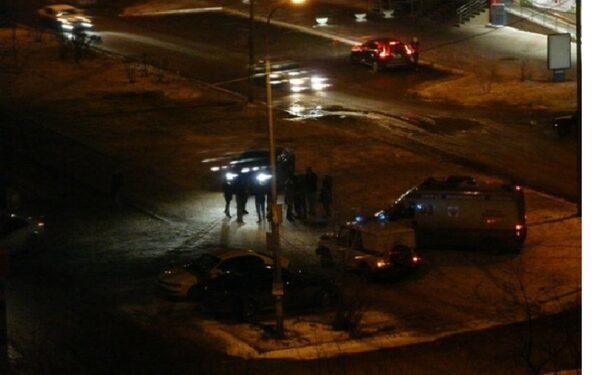 В Красноярске ДТП переросло в массовую драку