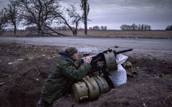 Нападение на блокпост ополчения ЛНР