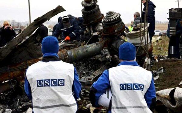 Представители ОБСЕ попали под обстрел в аэропорту Донецка