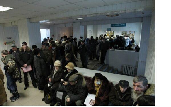 В брянской поликлинике пенсионер умер в очереди за талоном