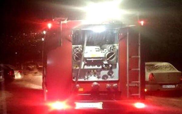 В 16-этажке на Касимовском шоссе произошел сильный пожар