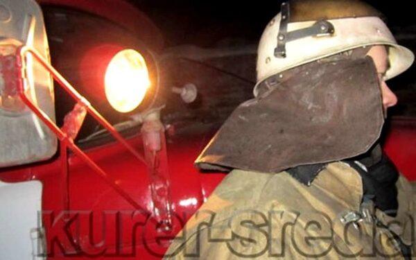 В Новой Москве пожар на мясокомбинате