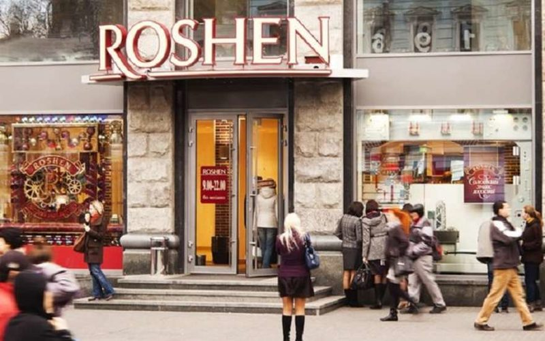 Магазины корпорации Roshen подверглись целой серии нападений