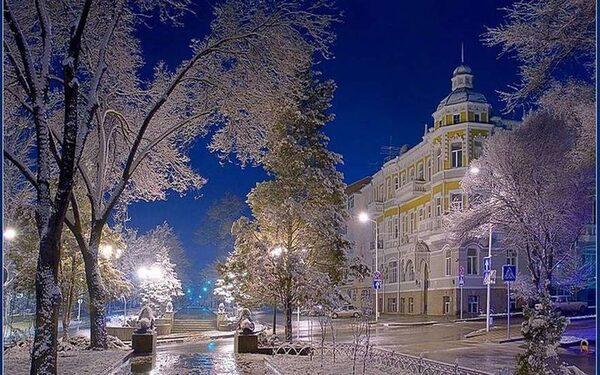 на Ростов идет снегопад, который может продлиться три дня