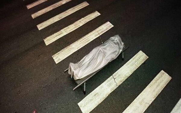 В Питере сбита женщина на зебре
