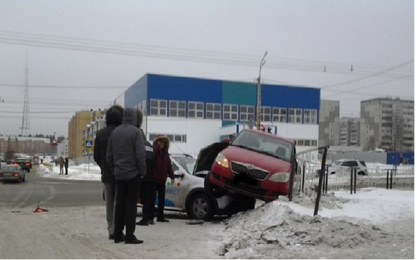 В Петрозаводске  ДТП