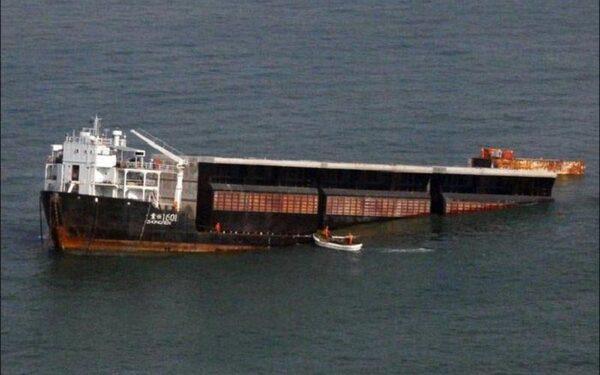 В астраханском порту затонуло судно «Ярославец»