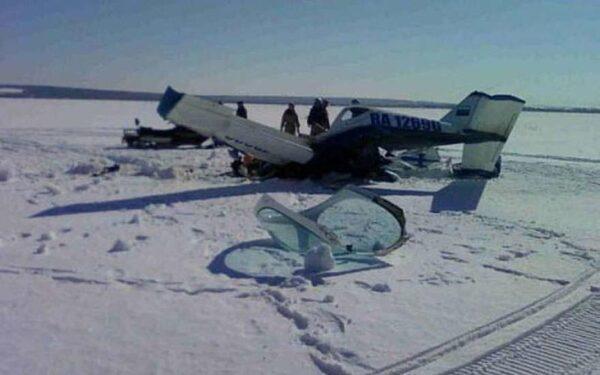 В Ханты-Мансийском автономном округе при крушении легкомоторного самолета пострадали два человека
