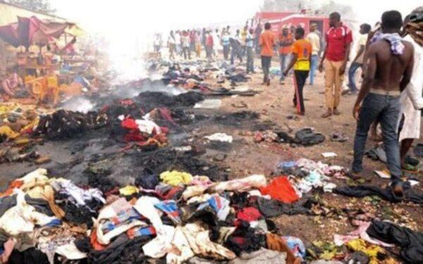 На рынке в Нигерии десятилетняя девочка-смертница устроила теракт, в результате погибли 10 человек