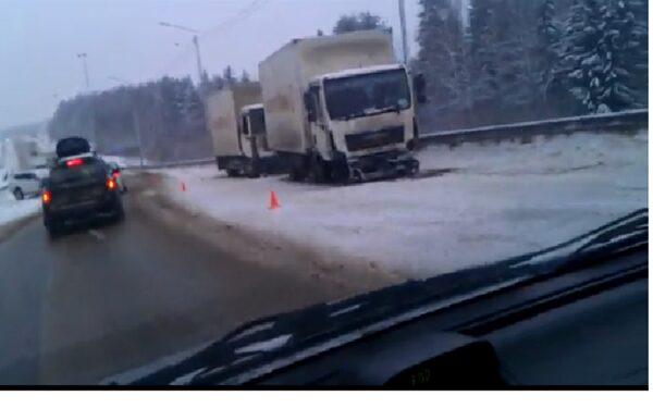 Массовое ДТП в Вологодской области