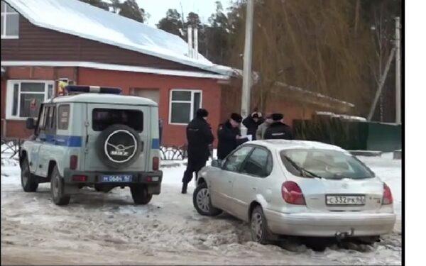 Пьяный рязанец протаранил полицейский автомобиль