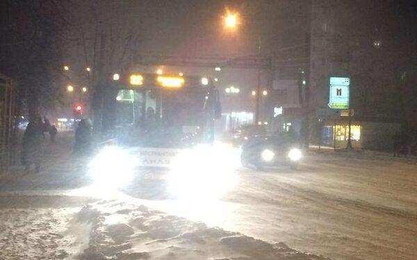 Массовое ДТП в Ростове-на-Дону с участием маршрутки произошло из-за погодных условий