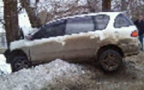 В Воронеже водитель иномарки погиб, протаранив дерево