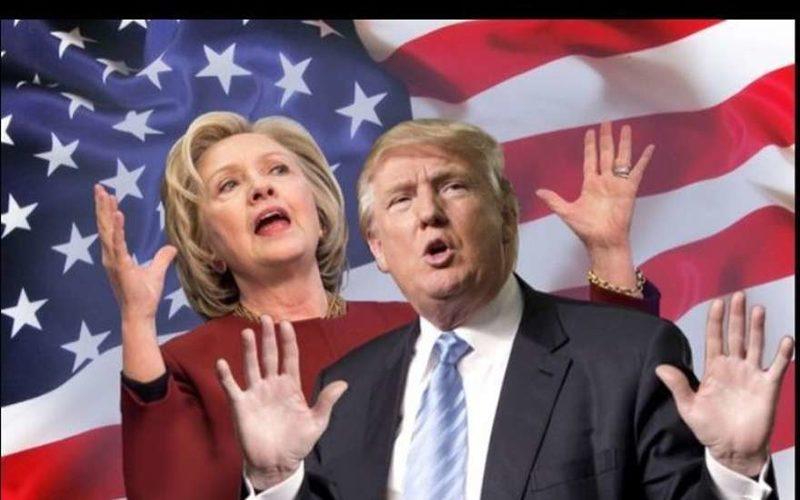 Хилари Клинтон и Дональд Трамп