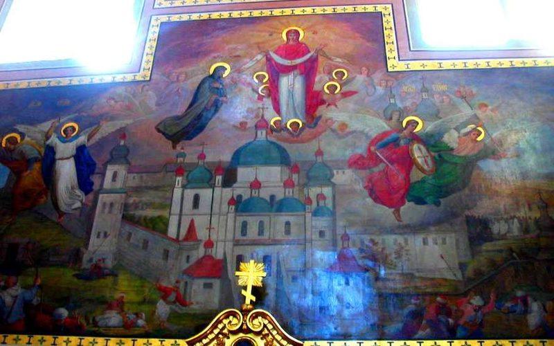 фреска Покров Пресвятой Богородицы
