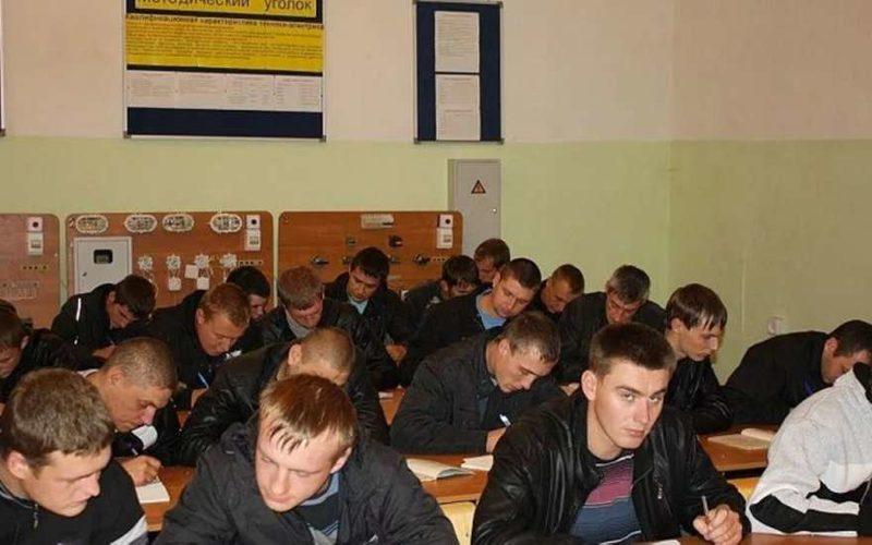 Студенты ульяновского сельхозтехникума