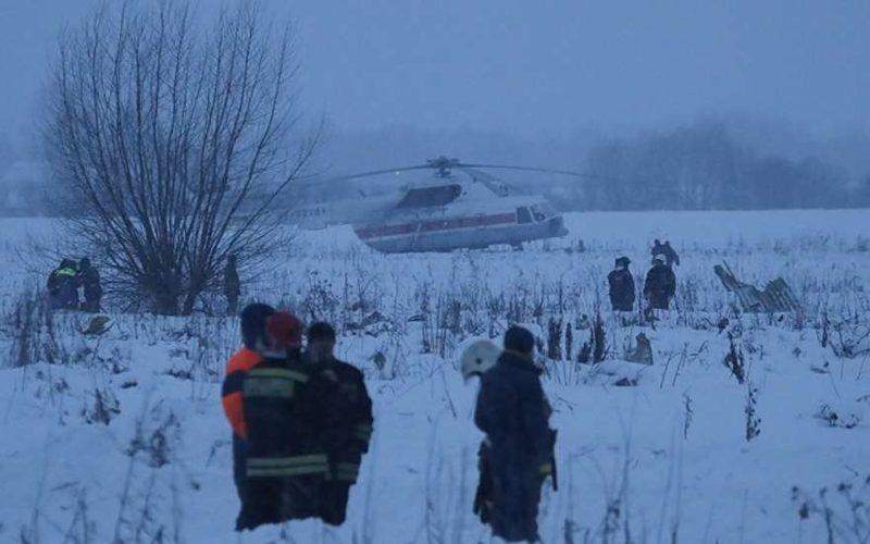 Самолет разбился сегодня 11.02.2018: новости сейчас, фото и видео