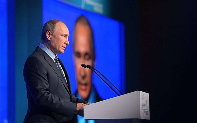 Послание Владимира  Путина Федеральному собранию и презентация ракеты