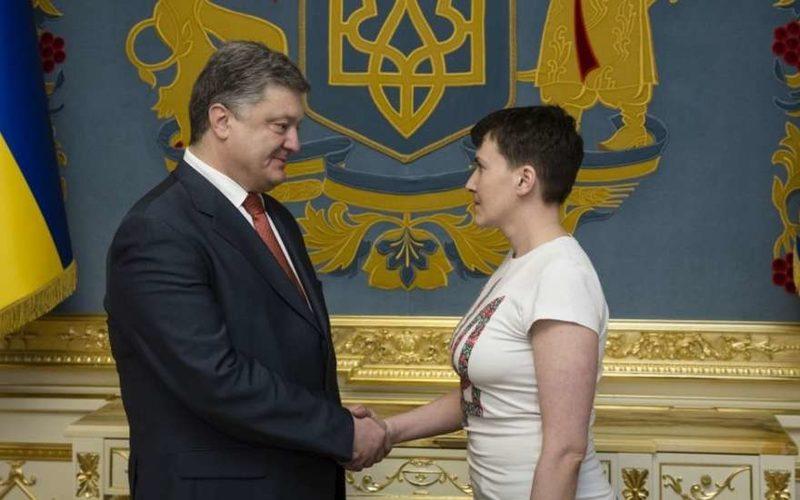 Надежда Савченко приковала к себе взгляды миллионов