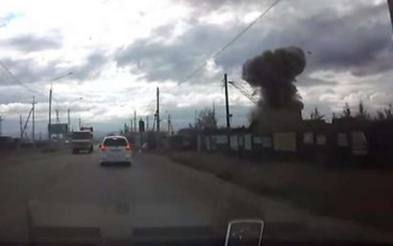 Взрыв в Чите 10 августа: момент трагедии попал на видео