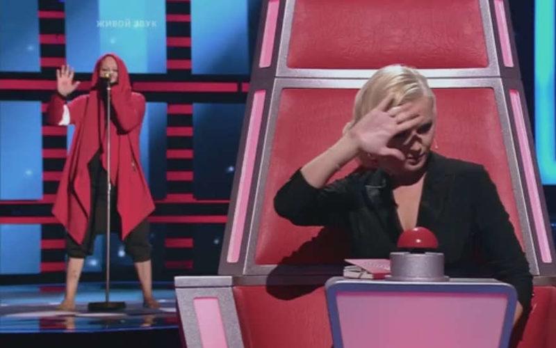 Полина Гагарина на шоу Голос