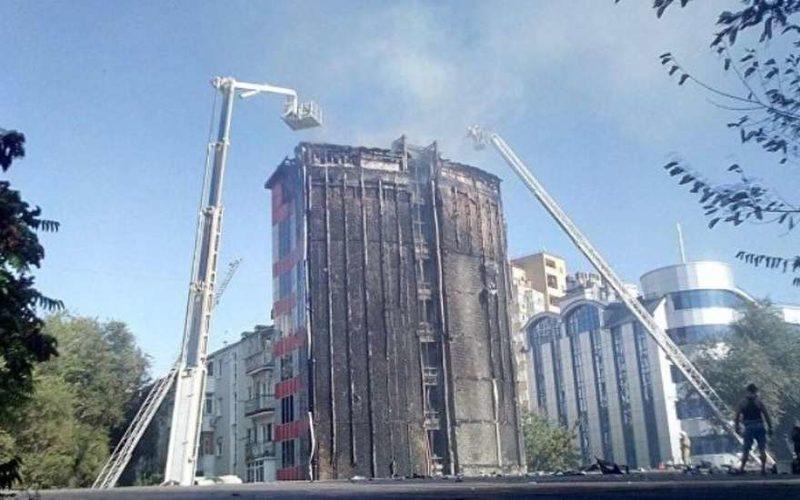 Пожар в Ростове-на-Дону сейчас: последние новости с места происшествия, фото, видео