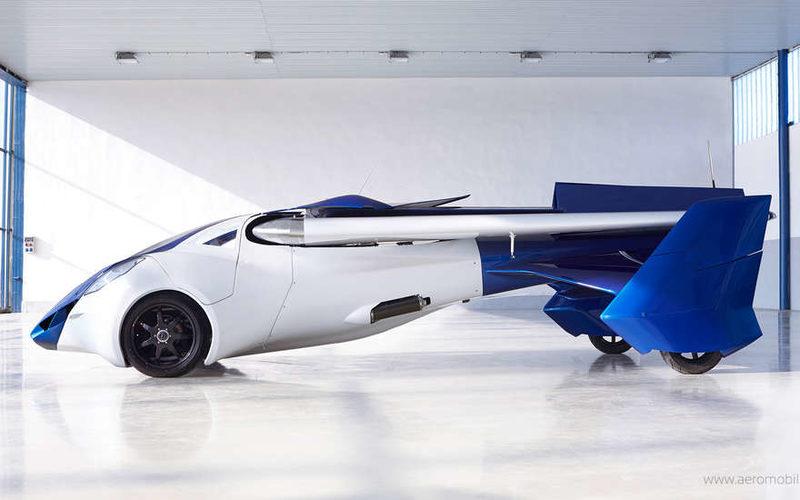 прототип AeroMobil 3.0