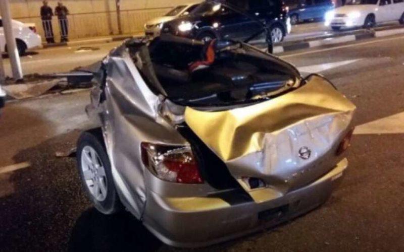 ДТП в Сочи разорвало машину пополам
