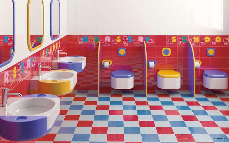 туалет в детсаду
