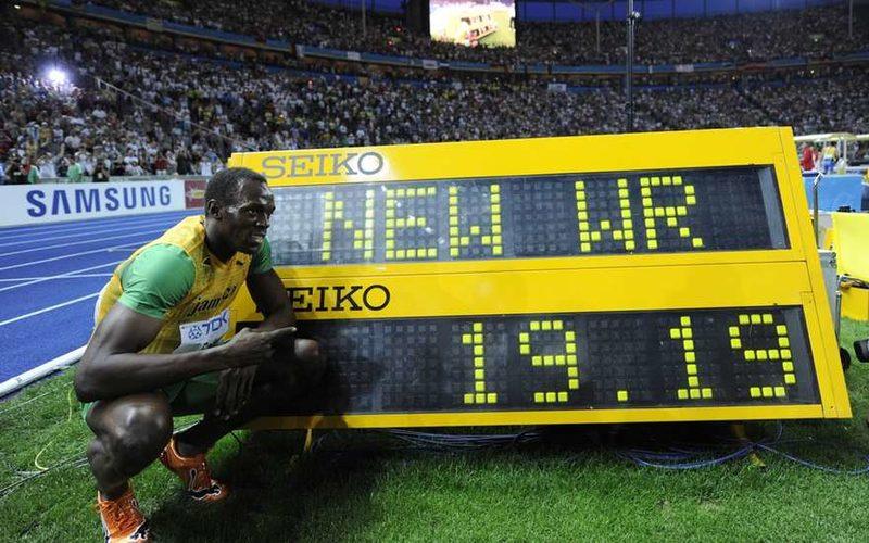 Усейн Болт признан лучшим легкоатлетом мира